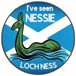 2x I've Seen Nessie Loch Ness Scotland Vinyl Sticker Car Van Camper Decal