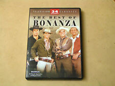 THE BEST OF BONANZA - 4 DVD DISC SET - 34 EPISODES - PRE-OWNED - GOOD COND.
