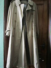 Aquascutum trench long coat  worn once  ladies