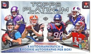 2014 Topps Platinum Football Complete Your Set Pick 25 Cards From List *Blue