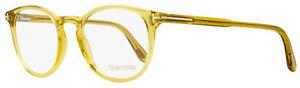 Tom Ford Oval Eyeglasses TF5401 041 Transparent Sand 51mm FT5401