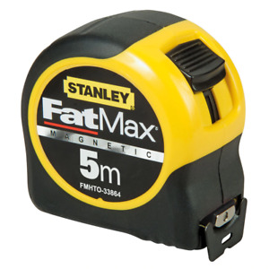 STANLEY® FATMAX? BLADE ARMOUR MAGNETIC TAPE MEASURE 5M X 32 METRIC, FMHT0-33864