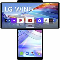 LG Wing 5G Aurora Gray, Dual SIM, 8GB 128GB, Official Warranty No Brand