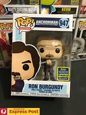 ANCHORMAN RON BURGUNDY JAZZ FLUTE SDCC SHARED EXCL FUNKO POP VINYL FIGURE #947