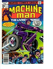 Machine Man # 2 VF/NM Marvel Comic Book The Living Robot Super-Heroes TW65
