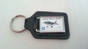 Hawker Siddeley Harrier Jet Keyring - RAF
