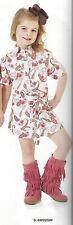 Wrangler GIRLS Western Multi Paisley Short Sleeve Dress - M - GWD203M