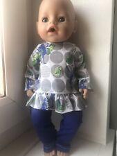 Baby Born bambole vestiti abiti bambola 43cm o simili regalo ragazze Boy Girl Vestito