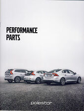 Volvo V40 S60 V60 XC60 Polestar 2016 catalogue brochure