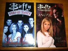 Buffy Vampire Slayer Gn 2 lot Dark Horse Comics 1st ed Oss Dust Waltz Past Lives