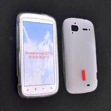 Cover per Htc Sensation 4G, Sensation XE, Sensation, in silicone TPU trasparente