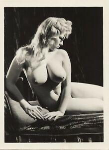 Vint Original Nude Lorraine Burnette Posing 99281 Glossy Photo