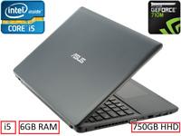 "Asus X552CL 15.6"" i5 6GB RAM 640GB HHD NVIDIA GEOFORCE 710M GAMING SPEC WIN10"