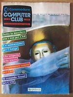 Rivista Commodore COMPUTER CLUB - N. 40 - 25 marzo 1987 - RARO