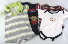 BABY CLOTHES OUTFITS LOT OF 4  ONE PIECE NEWBORN 0-3 MOS BOYS EXCELLENT CONDITIO