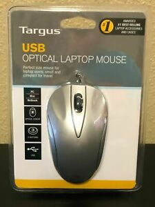 Targus USB Optical Sensor Laptop Wired Mouse (Model BUS0213) NEW / SEALED