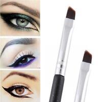 Professional Schönheit Braun Auge Lidschatten Brow Pinsel MakeUp Werkzeuge