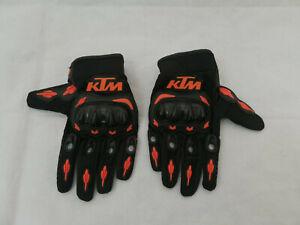 KTM  Black and Orange Riding Gloves Size XXL Unisex