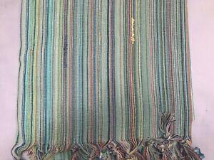 PAREO Ponpon Bolero Turkish Peshtemal 100%Cotton, Beach Towel USA SELLER 002