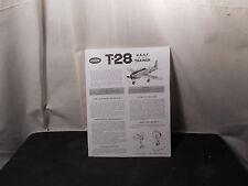 Cox 049 T-28 USAF Advanced Trainer Manual-Copy