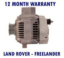 LAND ROVER - FREELANDER (LN) 1.8 16V 4X4 SOFT TOP 1998 - 2006 ALTERNATOR