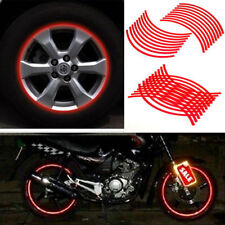 16 Reflective Motorcycle Car Sticker Wheel Rim Strip Decal Tape for Honda Yamaha