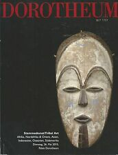 DOROTHEUM AFRICAN OCEANIC ISLAMIC INDONESIA BALI MASK WEAPONS ART Catalog 2015