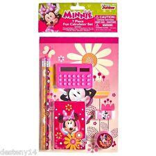 Disney Minnie Mouse 7 Piece Fun Calculator Set New