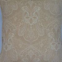 A 16 Inch Cushion Cover In Laura Ashley Vionette Gold Fabric
