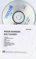 MAGIK MARKERS Balf Quarry 2009 UK 10-trk promo test CD Drag City