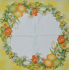 PAPER TABLE NAPKINS FOR CRAFT VINTAGE EGGS EASTER DECOUPAGE TEA PARTIES 275