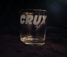 SANCTUARIES EDGE ROCK CLIMBING CRUX BOULDER ETCHED WHISKEY GLASS GIFT PRESENT