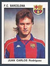 PANINI FUTBOL 93-94 SPANISH -#076-F.C.BARCELONA-JUAN CARLOS RODRIGUEZ