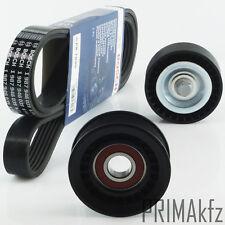 Bosch 6PK1890 V-Ribbed Belts + Idler Pulley Tensioner Ford Focus 1.4 1.6 16V