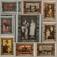 More details for mint sheet of 60 cinderella coronation postage stamps c.1937 framed