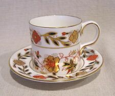 Royal Crown Derby Asian Rose 8687 Demitasse Cup and Saucer Factory First Quality