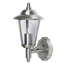 Polished Stainless Steel Modern Wall Light IP44 Outside Wall Light Lantern
