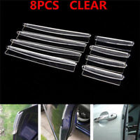 Transparent Car Door Edge Protector Anti Collision avoid shaven Strip Accessory