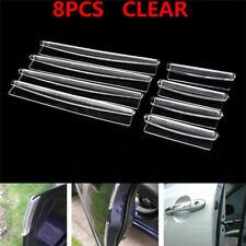 Transparent Car Door Edge Protector Anti Collision avoid shaven Strip Accessory