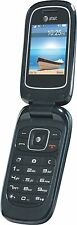 USED ZTE Z222 3G GSM Bluetooth with Camera Flip Phone for At&T, Factory reset