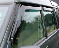 LAND ROVER CLASSIC 1987-1998 FRONT & REAR WIND DEFLECTOR SET 4 PIECES DA6070