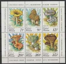 Guine-Bissau postfris 1985 MNH vel/sheet 846-851 - Paddestoel / Mushroom (X944)