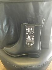 Mel By Melissa Plum Boot Black Size 4 RRP £55 LAST PAIR THIS SIZE