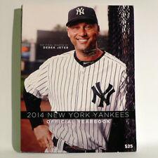 NEW YORK YANKEES UFFICIALE ANNUARIO 2014-Derek Jeter-Mlb Baseball