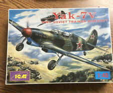 ICM Yak-7V Soviet WWII Trainer Aircraft 1:48 Scale Kit #48033 Sealed MIB
