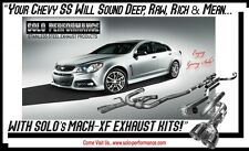 Solo Performance Cat Back Exhaust for Chevorlet SS  Mach Short