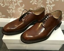 Men,s - Cheaney - Brown Leather Derby Shoes - UK 8