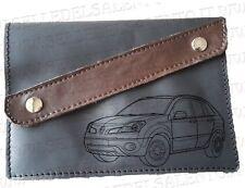 Portadocumenti portalibretto pelle incisione RENAULT Koleos Leather