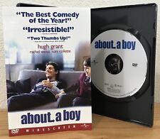 ABOUT A BOY (DVD, 2003) WIDESCREEN w/SCENE SELECTION INSERT ~ Region 1