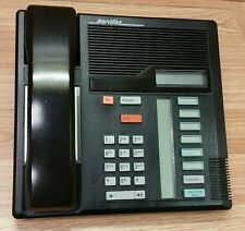 Northern Telecom Meridian Business Telephone (7208) Black With Base - *FOR PARTS